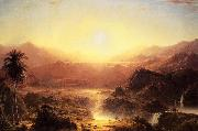 Andes of Eduador Frederic Edwin Church