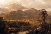 Mountains of Ecuador Frederic Edwin Church