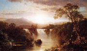 Landscape with Waterfall Frederic Edwin Church