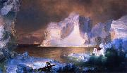 The Iceburgs Frederic Edwin Church