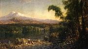 Figures in an Ecuadorian Landscape Frederic Edwin Church