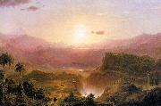 Andes of Ecuador Frederic Edwin Church