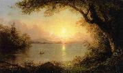Lake Scene Frederic Edwin Church
