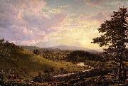 Stockbridge,Mass. Frederic Edwin Church