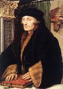 Portrait of Erasmus of Rotterdam sg HOLBEIN, Hans the Younger