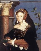 Portrait of Lady Mary Guildford sf HOLBEIN, Hans the Younger