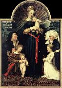 Darmstadt Madonna sg HOLBEIN, Hans the Younger