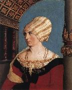 Portrait of the Artist's Wife HOLBEIN, Hans the Younger