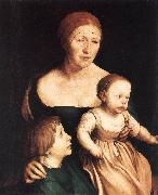 The Artist's Family sf HOLBEIN, Hans the Younger