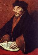 Portrait of Erasmus of Rotterdam sf HOLBEIN, Hans the Younger