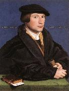 Portrait of a Member of the Wedigh Family sf HOLBEIN, Hans the Younger