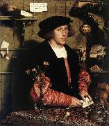 Portrait of the Merchant Georg Gisze sg HOLBEIN, Hans the Younger