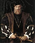 Portrait of Charles de Solier, Lord of Morette ag HOLBEIN, Hans the Younger