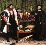 Jean de Dinteville and Georges de Selve (The Ambassadors) sf HOLBEIN, Hans the Younger