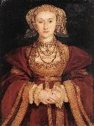 Portrait of Anne of Cleves sf HOLBEIN, Hans the Younger