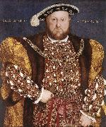 Portrait of Henry VIII dg HOLBEIN, Hans the Younger