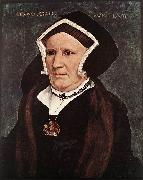 Portrait of Lady Margaret Butts sg HOLBEIN, Hans the Younger