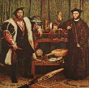 The Ambassadors Hans Holbein