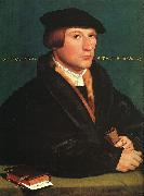 Portrait of a Member of the Wedigh Family Hans Holbein