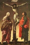 The Crucifixion with the Virgin and St.John Hendrick Terbrugghen
