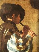 The Flute Player Hendrick Terbrugghen
