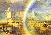Arundel Castle, with Rainbow. J.M.W. Turner