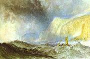 Shipwreck off Hastings. J.M.W. Turner