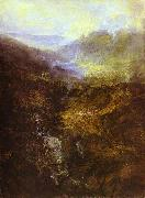 Morning Amongst Coniston Fells, Cumberland J.M.W. Turner