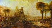 Caligula's Palace and Bridge. J.M.W. Turner