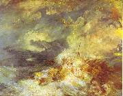 Fire at Sea J.M.W. Turner