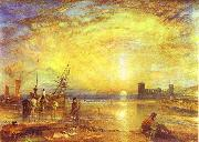 Flint Castle J.M.W. Turner
