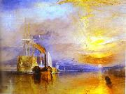 Fighting Temeraire Tugged to Her Last Berth to Be Broken up J.M.W. Turner