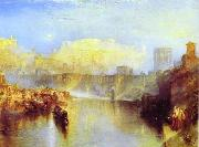 Ancient Rome; Agrippina Landing with the Ashes of Germanicus J.M.W. Turner