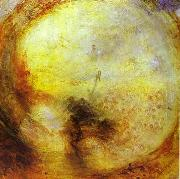 Light and Colour Morning after the Deluge - Moses Writing the Book of Genesis. J.M.W. Turner