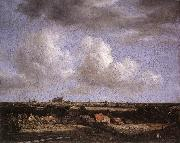 Landscape with a View of Haarlem Jacob van Ruisdael