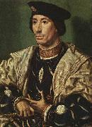 Portrait of Baudouin of Burgundy a Jan Gossaert Mabuse