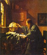 The Astronomer JanVermeer