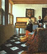 The Music Lesson-o JanVermeer