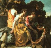 Diana and her Companions JanVermeer