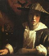 Young Girl with a Flute JanVermeer