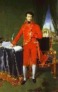 Portrait of Napoleon Bonaparte, The First Council. Jean Auguste Dominique Ingres