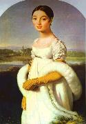 Portrait of Mademoiselle Riviere. Jean Auguste Dominique Ingres
