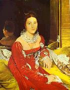 Portrait of Madame de Senonnes. Jean Auguste Dominique Ingres
