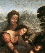 Madonna with the Yarnwinder  tw LEONARDO da Vinci