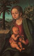 The Madonna with the Bunch of Grapes Lucas  Cranach