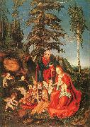 The Rest on the Flight to Egypt Lucas  Cranach