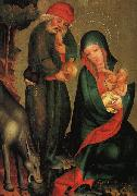 Rest on the Flight to Egypt, panel from Grabow Altarpiece g MASTER Bertram