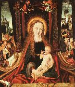Madonna and Child sg MASTER of the Aix-en-Chapel Altarpiece