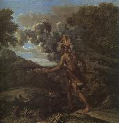Blind Orion Searching for the Rising Sun Nicolas Poussin