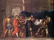 Death of Germanicus 1627 Oil on canvas Nicolas Poussin